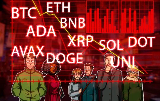 BTC, ETH, ADA, BNB, XRP, SOL, DOT, DOGE, UNI, AVAX