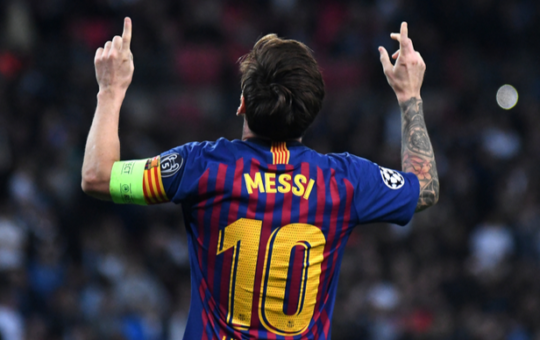 PSG token surges as Messi joins French club