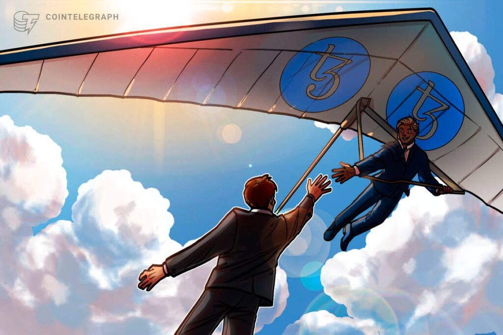 Tezos risks correction below record high with XTZ rallying 250% since July
